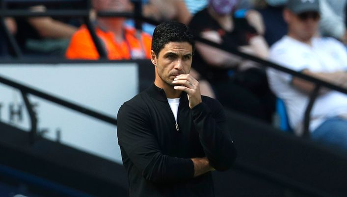 Mikel Arteta is under severe pressure at Arsenal after a dismal start