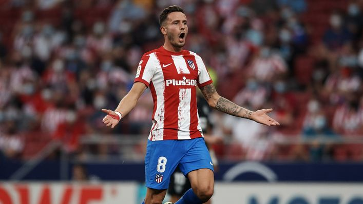 Saul Niguez has completed his move from Atletico Madrid to Chelsea